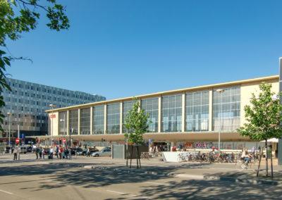 Westbahnhof Denkmalgeschützte Halle